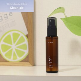 @aroma|Clean Air エッセンシャルオイル/エアミスト トドマツ/ユーカリ/ミント