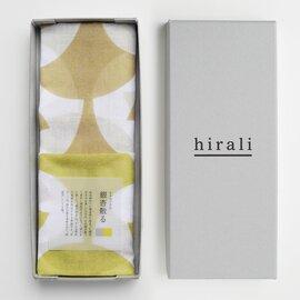 hirali|ガーゼストール かさねの色目 ~銀杏散る~