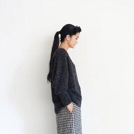 ichi Antiquités Alpaca Wool V-neck Knit Pullover