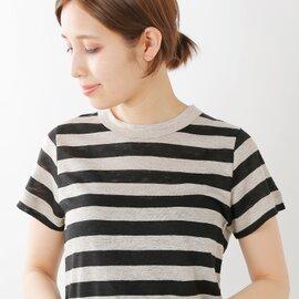 mao made|プリミエルリネンクルーネックTシャツ 911202-b-mm