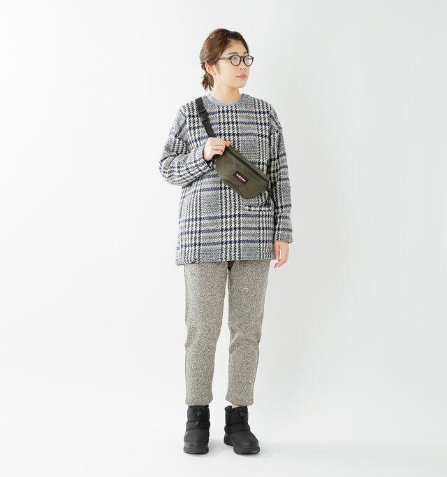 model hikari:165cm / 48kg color : TNF black / size : 7(24.0cm)