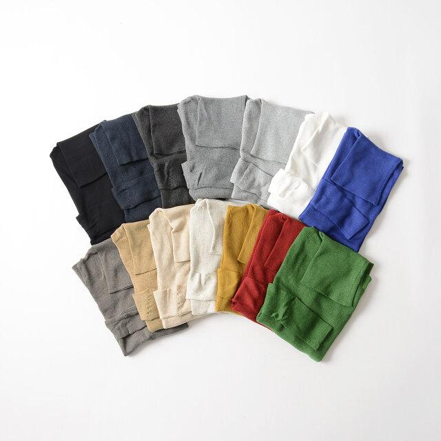 色違いで揃えたい14色の豊富なカラー展開。主役に、挿し色に、お好みのカラーをどうぞ♪