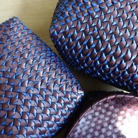 Suno&Morrison|8mm Kottan Basket #Dark Brown