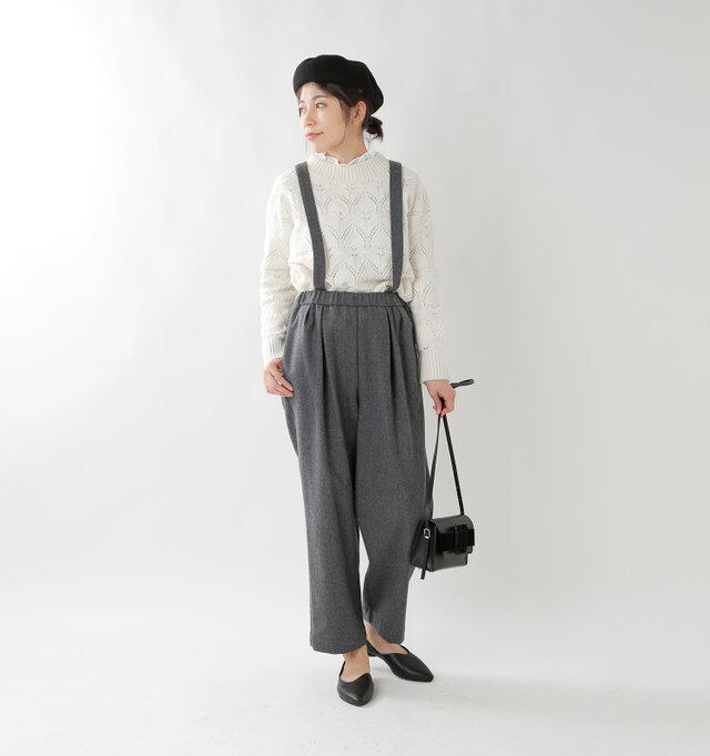 model hikari:165cm / 48kg color : gray / size : 38