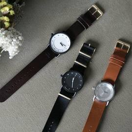 TID Watches|TID No.1 Leather Wristband(ゴールドバックル)