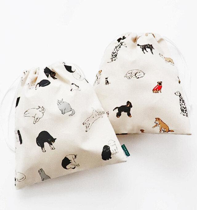 (30×H35)  こちらは巾着袋です。