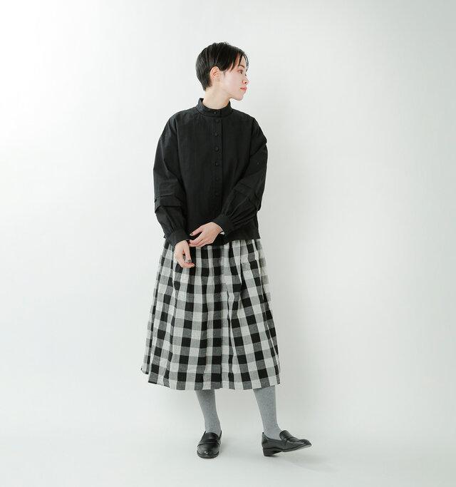 model saku:163cm / 43kg  color : bkack / size : F