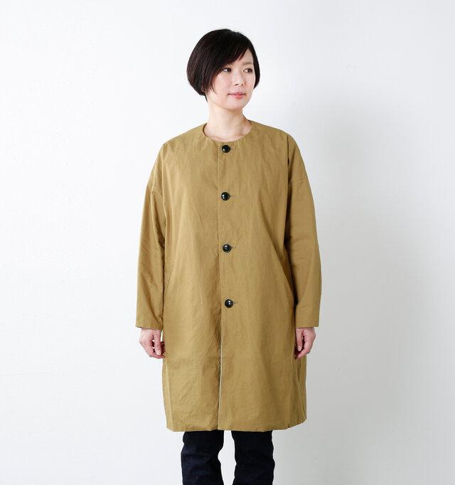 model mayu:158cm / 48kg color : walnut / size : 0