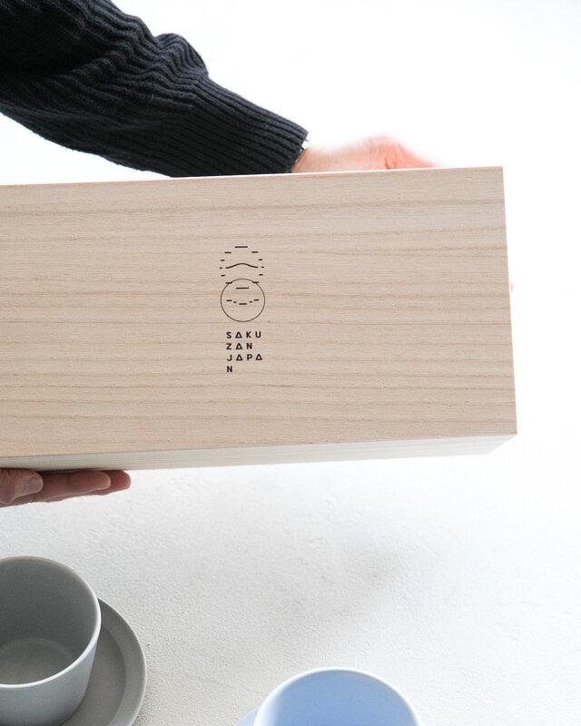 木箱に入っているのでギフトにとてもおすすめです。