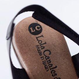 LOLA CANALES|aranciato別注 レザーウエッジソールサンダル 17210-rf