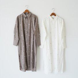 WALANCE|スター シャツ ドレス 星柄 ワンピース STAR SHIRTS DRESS 3211-116 ワランス