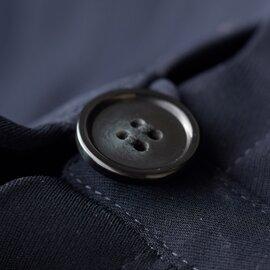 【2019SS】Si-Si-Si|aranciato別注 とろみノーカラータックフロントジャケット n-1501-ms