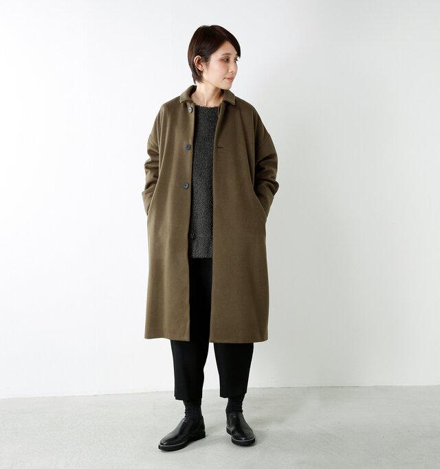 model yama:167cm / 49kg color : negro / size : 38(24.0cm)