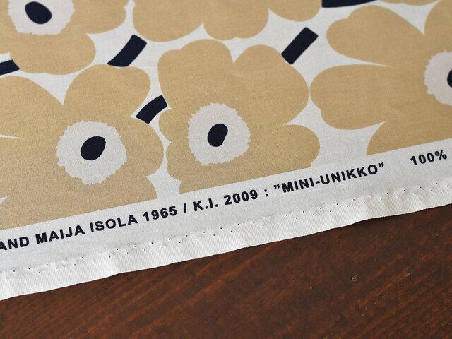 【メール便対応】marimekko|生地 MINI UNIKKO 限定カラー(手作りマスクにも使えます)