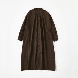 Cion|コットンシースルーロングシャツドレス・19-13201