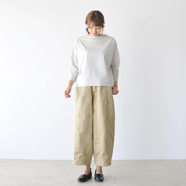 モデル:170cm / 54kg color : light grey(col.12) / size : 1(free)