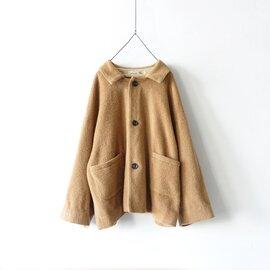 ichi Antiquités Wool Alpaca Mosser Jacket