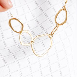 "Joli&Micare|ネックレス""5Ring long Necklace"" fir0109-mm"