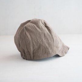わざわざ|パン屋の帽子 草木染め