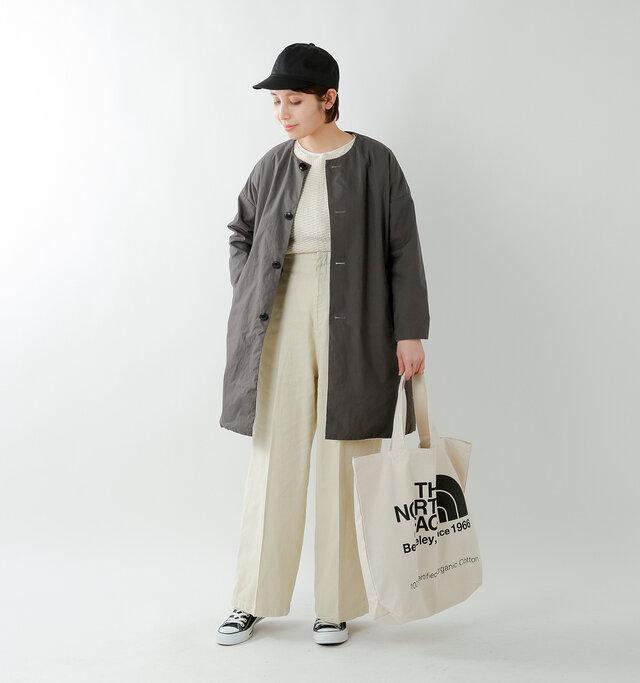 model yama:167cm / 49kg color : sumikuro / size : 0(XS)