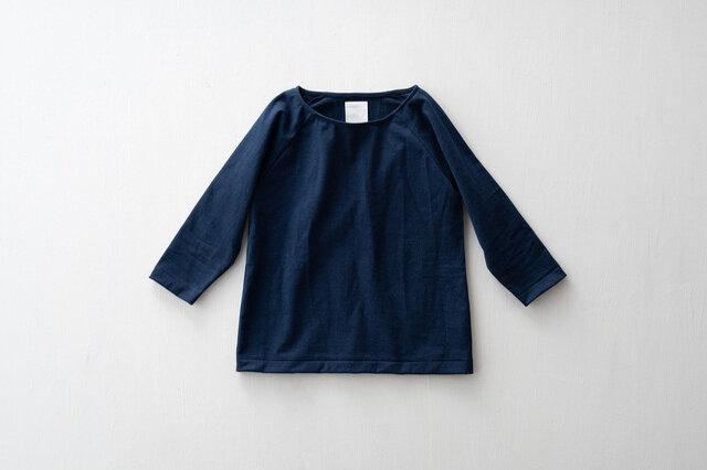 パン屋のTシャツ わざわざオリジナル 新色のネイビーが仲間入り! いつの時代も常に中心にある色。硫化鉄媒染染めなので、じっくりと色落ちしていきます。ネイビーは経年変化の王道って感じですね!