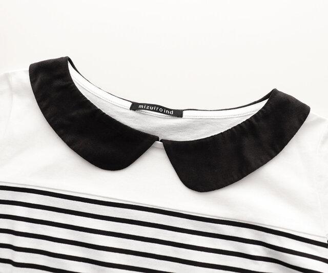 襟は別珍素材を使用し、ポイントになっています。
