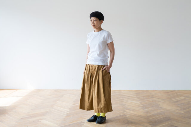 モデル着用サイズ:S モデル身長:157cm サイズの参考:SとLの着丈の差は3.5cmです。