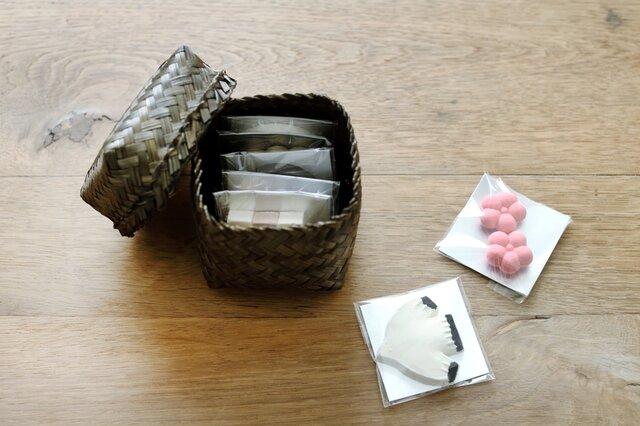 竹かご入り(7個入り) 2,160円