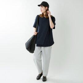 Dulcamara|コットンワッフルレイヤードTシャツ d119-t886-fn