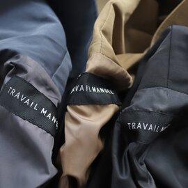 TRAVAIL MANUEL N/Cグログラン・ボタンパーカー