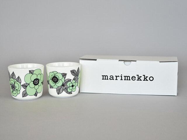 ラテマグは、偶数個ご購入いただけると、marimekkoのロゴ入りボックスでお届けいたします。プレゼントにも喜んでいただけますよ。