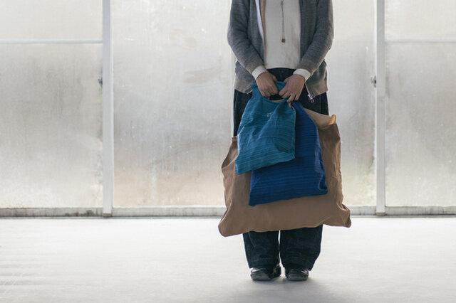 ザンシンバッグは3サイズで展開中。