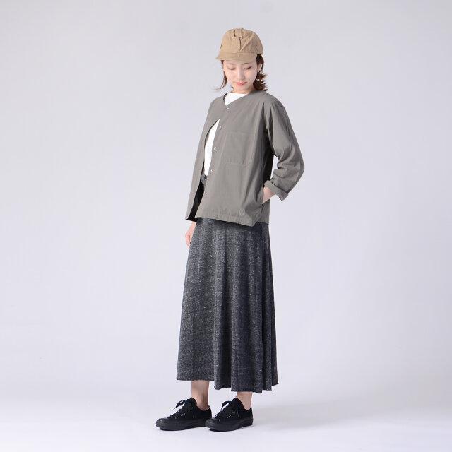 モデル:170cm / 54kg color : khaki / size : 1(Women's free)
