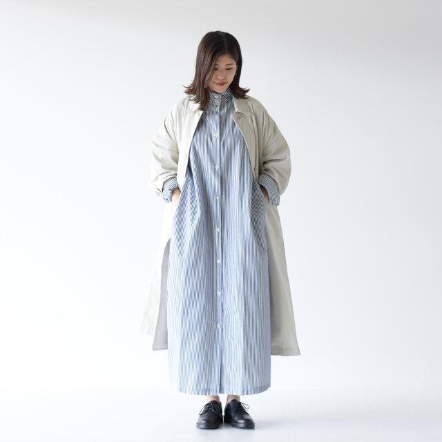 モデル: 157cm /47kg color:navy stripe / size:free(フリーサイズ)