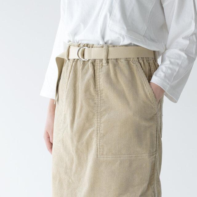 総ゴム仕様で脱ぎ穿きが楽ちん。 両サイドには大きなポケットを備えています。