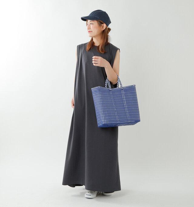 model tomo:158cm / 45kg color : black mini check / size : M