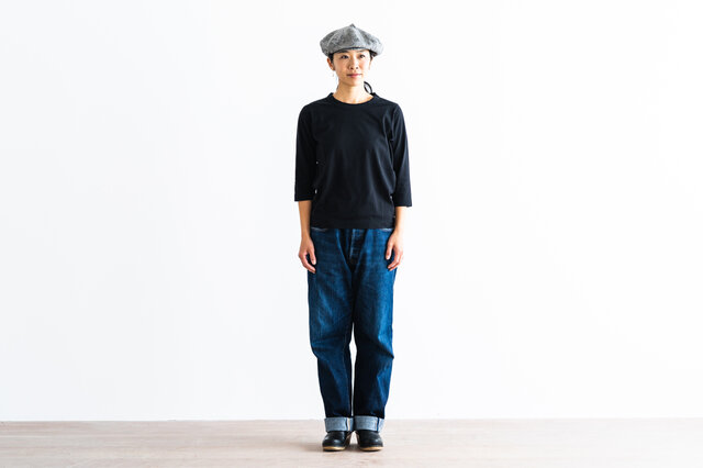 ブラック / M 着用、モデル身長:160cm
