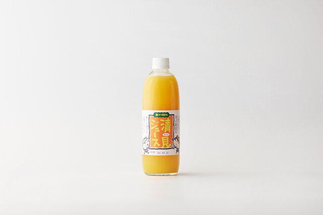 のうみん|【12本入ケース】 清見ジュース