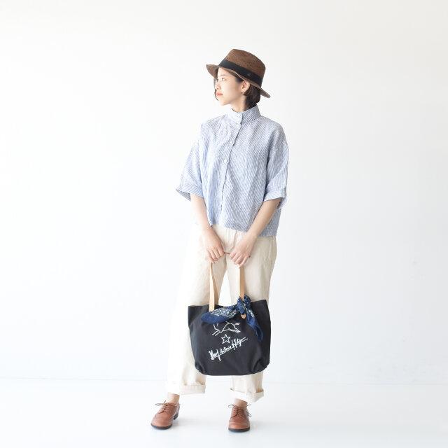 model : kaya / color : navy stripe / size : フリーサイズ