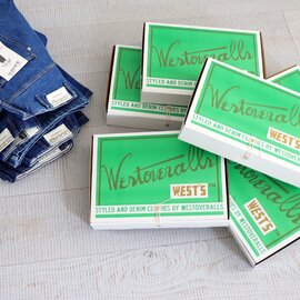 WESTOVERALLS 5POCKET DENIM TROUSERS. 805T- BIO BLUE