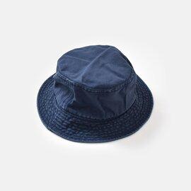 "NIGEL CABOURN|10ozコットンダックキャンバスバケットハット""LYBRO BUCKET HAT"" 8040-13-66015-yn"
