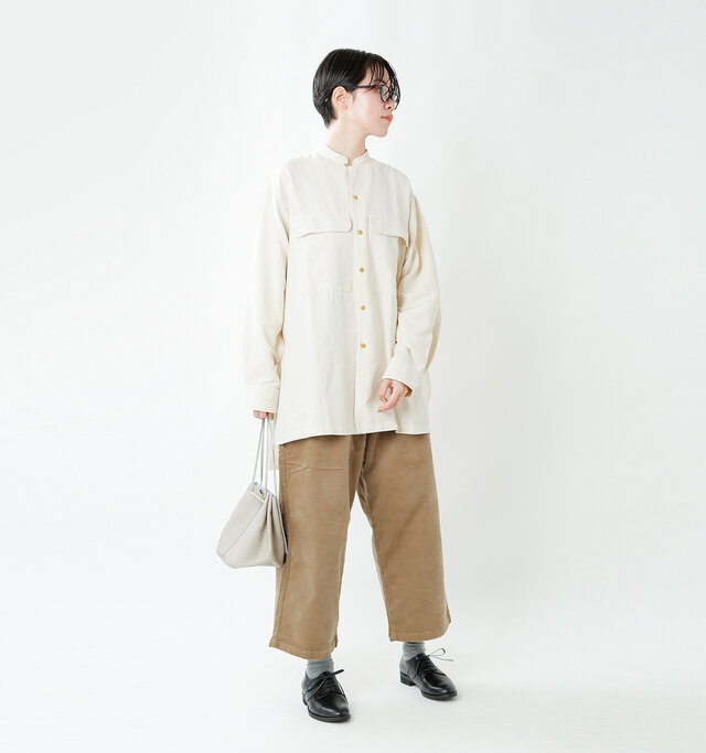 model saku:163cm / 43kg  color : calf black / size : 37(23.0cm)