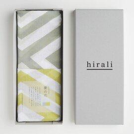 hirali 【送料無料】ガーゼストール かさねの色目 ~菱の花~