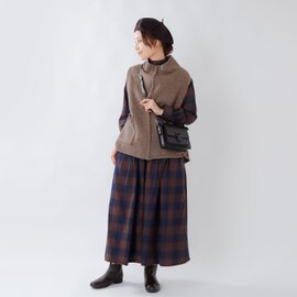 TANG|aranciato別注 ラムウールニットベスト 1720211-ms