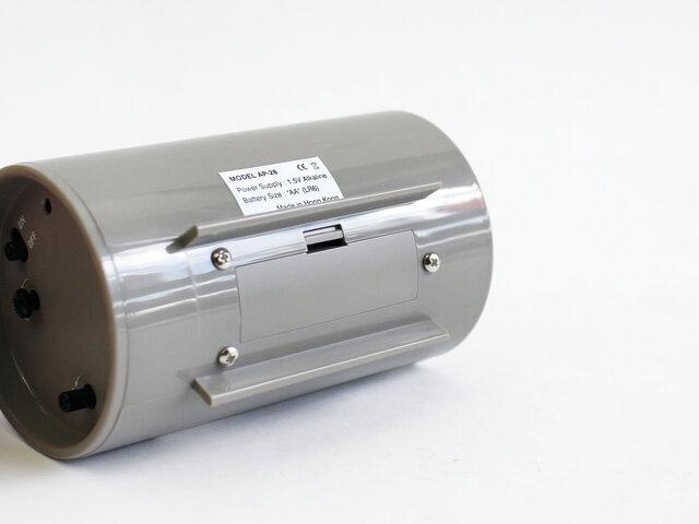 電源(バッテリー)は、単三電池1個となります。