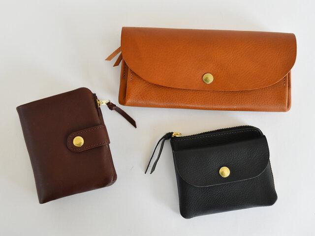 CINQの財布シリーズは全部で3種類。