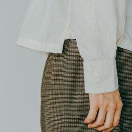 GRANDMA MAMA DAUGHTER|スタンドカラーショートシャツ