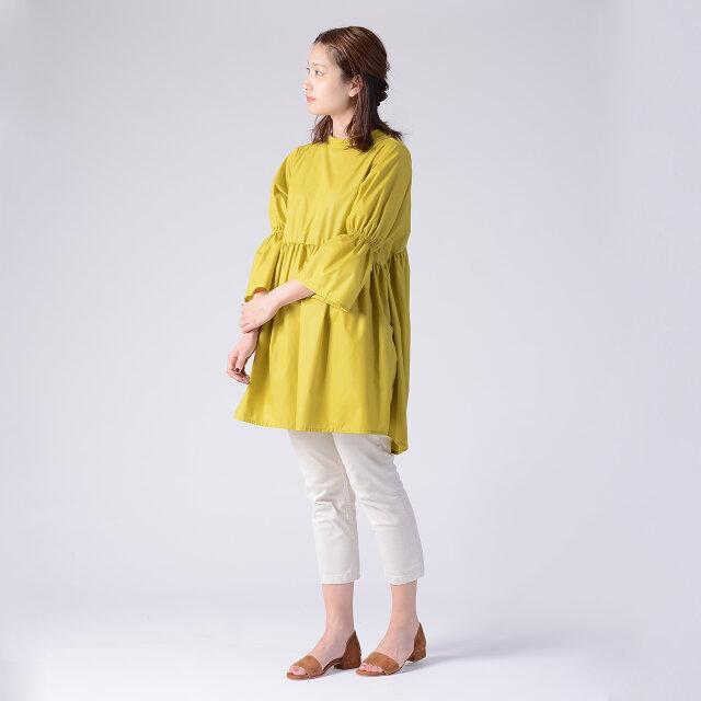 モデル:170cm / 54kg color : yellow / size : フリーサイズ
