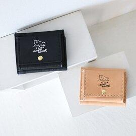 IL BISONTE|50周年 記念モデル 日本限定 手書き風 イラスト スクエア型 三つ折り レザー コンパクト ウォレット 財布 54202-3-07340 イルビゾンテ