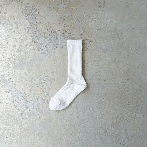 Loiter|Linen Color Rib Socks